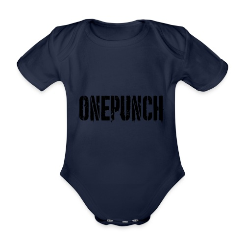 Boxing Boxing Martial Arts mma tshirt one punch - Organic Short-sleeved Baby Bodysuit