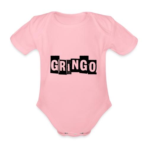 Cartel Gangster pablo gringo mexico tshirt - Organic Short-sleeved Baby Bodysuit