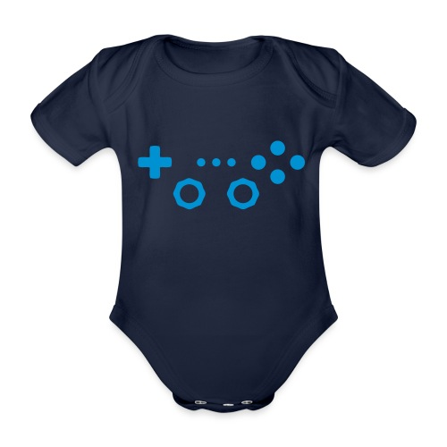Classic Gaming Controller - Organic Short-sleeved Baby Bodysuit