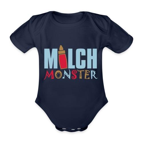 MILCHMONSTER - Baby Bio-Kurzarm-Body