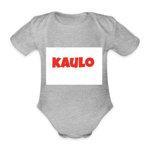 kaulo - Baby bio-rompertje met korte mouwen