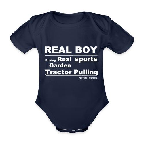 teenager - Real boy - Kortærmet babybody, økologisk bomuld