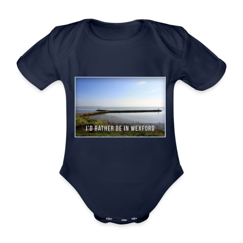 Rather be in Wexford - Organic Short-sleeved Baby Bodysuit