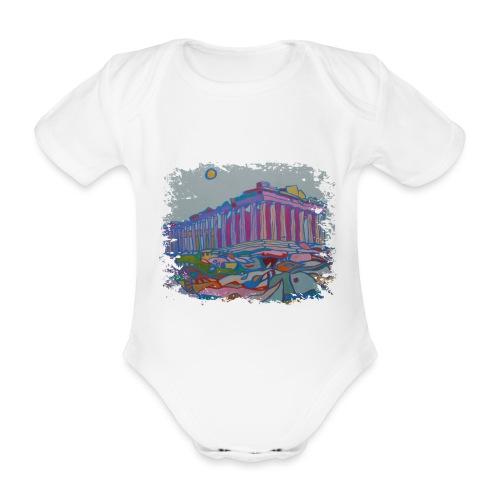 Athen - Baby Bio-Kurzarm-Body