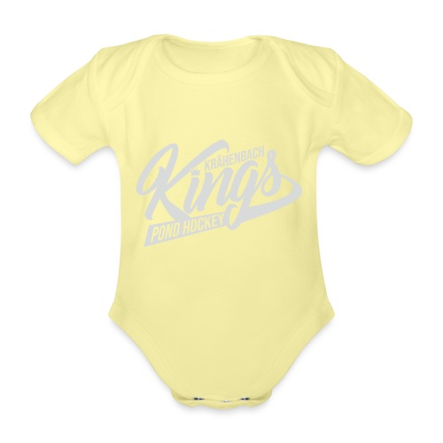 KINGS Logo 2019 - Baby Bio-Kurzarm-Body