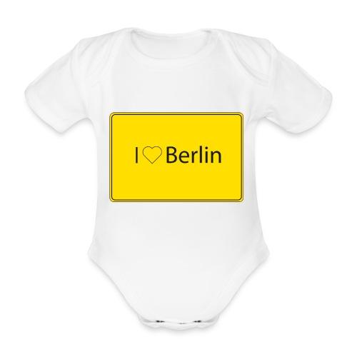 I love Berlin - Baby Bio-Kurzarm-Body