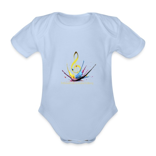 SERIE01 9transparent - Baby Bio-Kurzarm-Body
