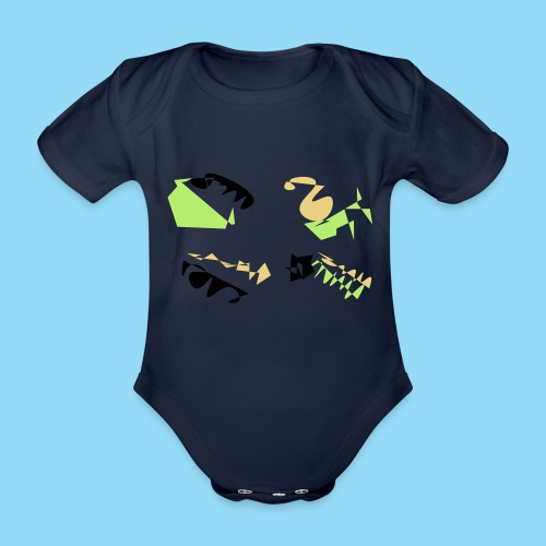 Abstracts & Colours - Organic Short-sleeved Baby Bodysuit