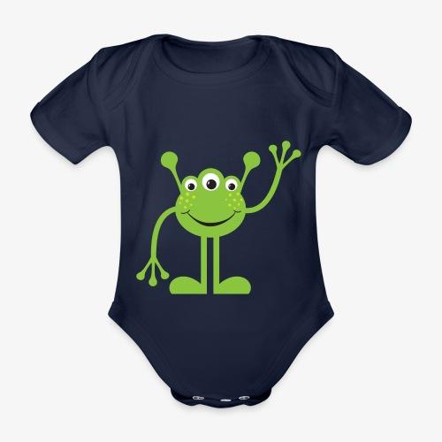 Marsianer - Baby Bio-Kurzarm-Body