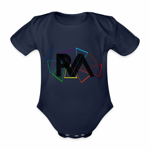SIGLA DEL PARTITO P.V.A. - Body ecologico per neonato a manica corta