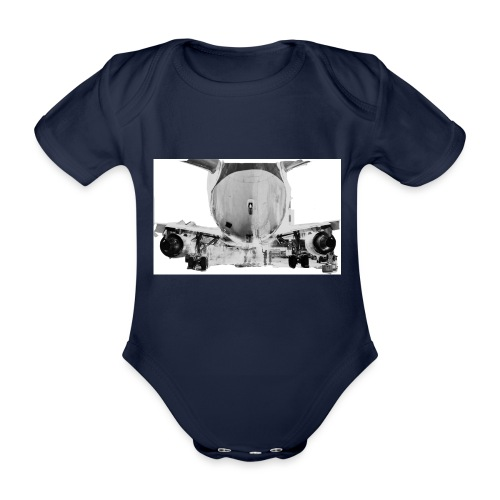 jet2 - Body ecologico per neonato a manica corta