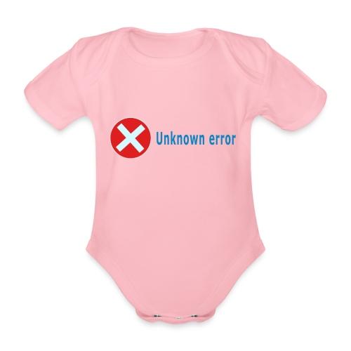 Unkown Error - Vauvan lyhythihainen luomu-body