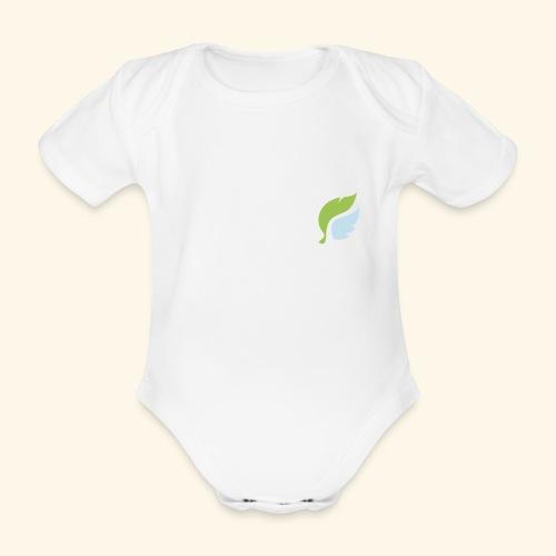 Akan White - Vauvan lyhythihainen luomu-body