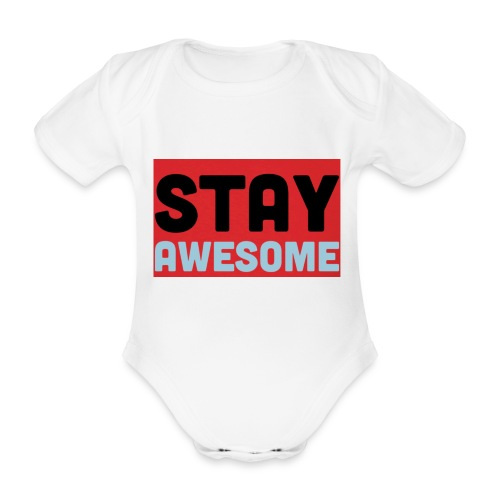 425AEEFD 7DFC 4027 B818 49FD9A7CE93D - Organic Short-sleeved Baby Bodysuit