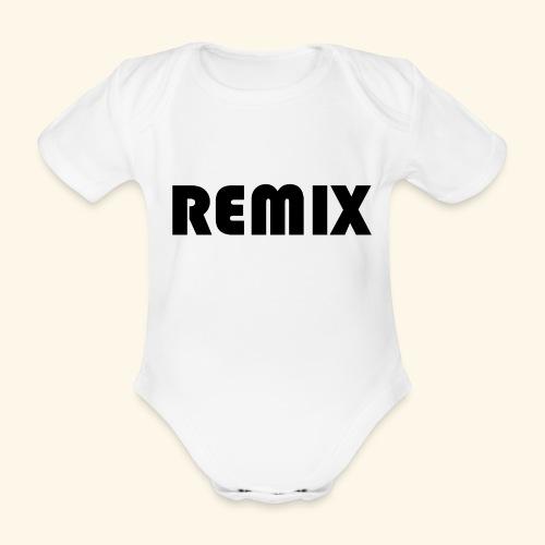 Remix - Body orgánico de manga corta para bebé