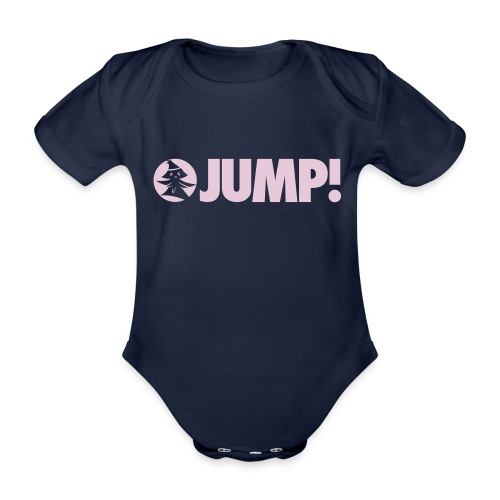 JUMP! - by Forest Jump Ultimate Frisbee Team - Baby Bio-Kurzarm-Body