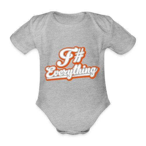 F# Everything - Organic Short-sleeved Baby Bodysuit