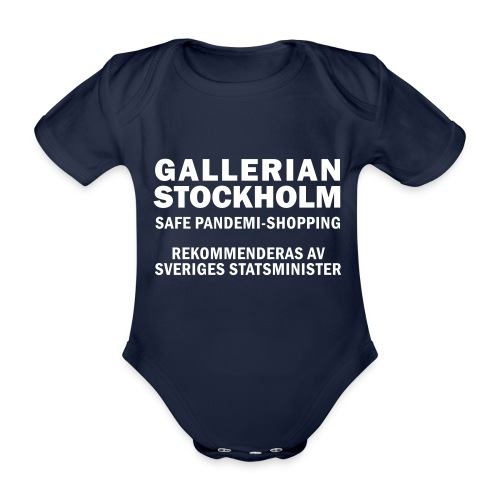Gallerian Stockholm - Shopping trots restriktioner - Ekologisk kortärmad babybody