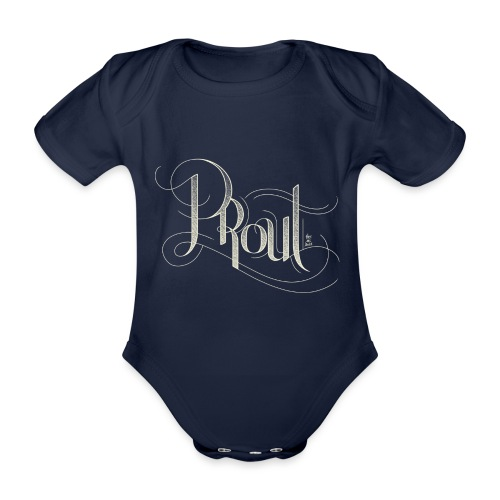 Sophisticated PROUT - Organic Short-sleeved Baby Bodysuit