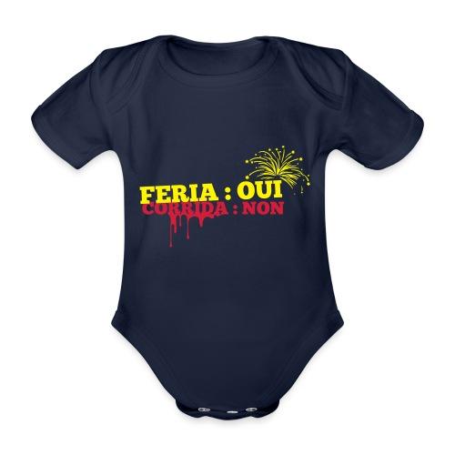 feria - Body Bébé bio manches courtes