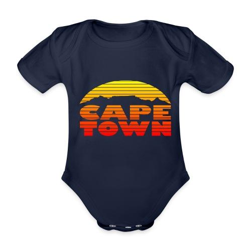 TableMountain-Sunset - Baby Bio-Kurzarm-Body