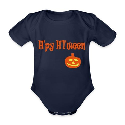 Happy Halloween - Baby Bio-Kurzarm-Body
