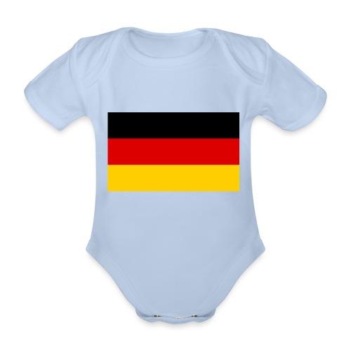 2000px Flag of Germany svg - Baby Bio-Kurzarm-Body