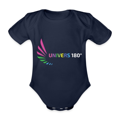 Univers 180° - Baby Bio-Kurzarm-Body