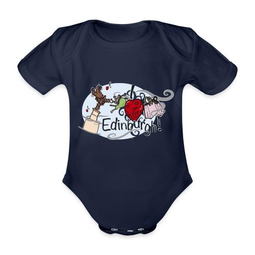 I love Edinburgh - Organic Short-sleeved Baby Bodysuit