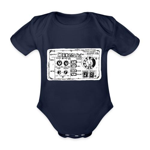 Drum Machine's R Ace! - Organic Short-sleeved Baby Bodysuit
