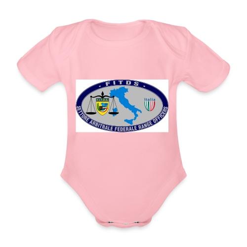 Logo SAFRO - Body ecologico per neonato a manica corta