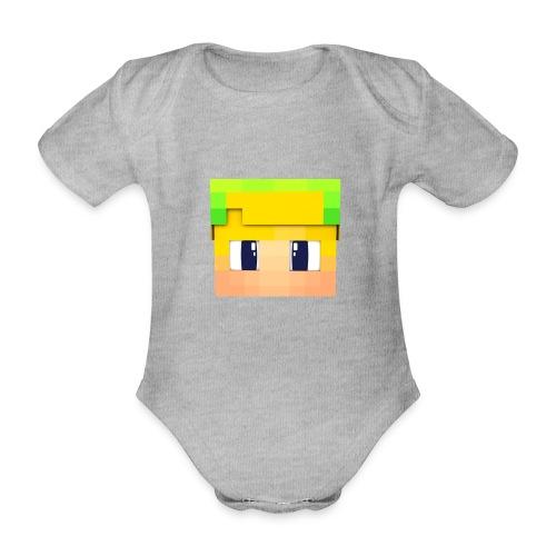 Yoshi Games Shirt - Baby bio-rompertje met korte mouwen