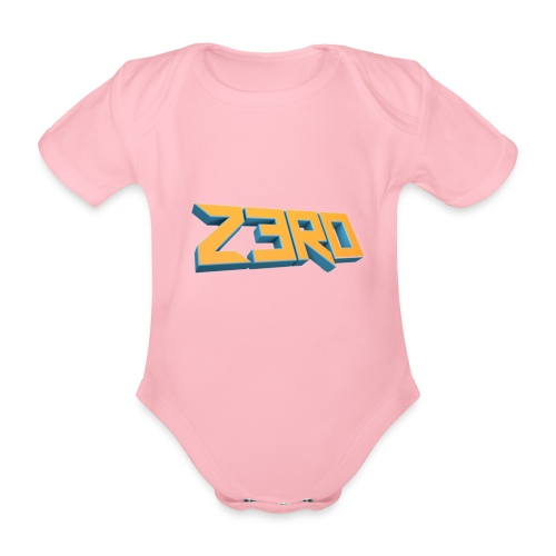 The Z3R0 Shirt - Organic Short-sleeved Baby Bodysuit