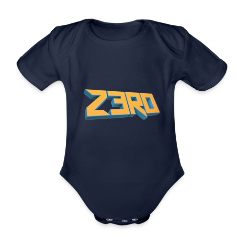 The Z3R0 Shirt - Organic Short-sleeved Baby Bodysuit
