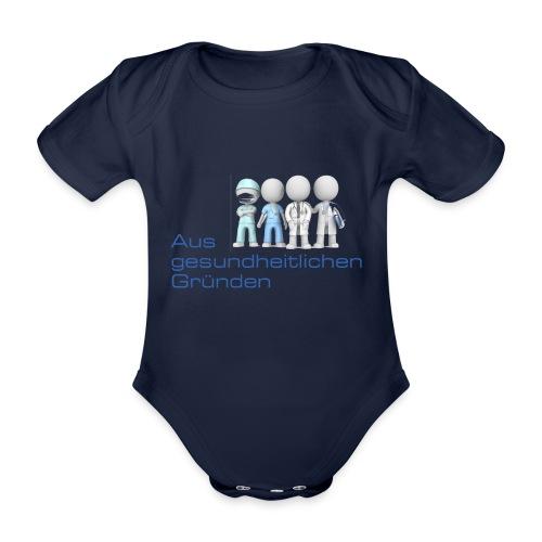 Aus gesundheitlichen Gründen - Baby Bio-Kurzarm-Body
