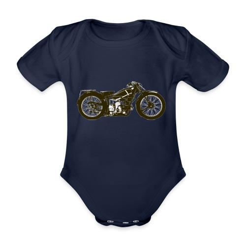 Classic Cafe Racer - Organic Short-sleeved Baby Bodysuit
