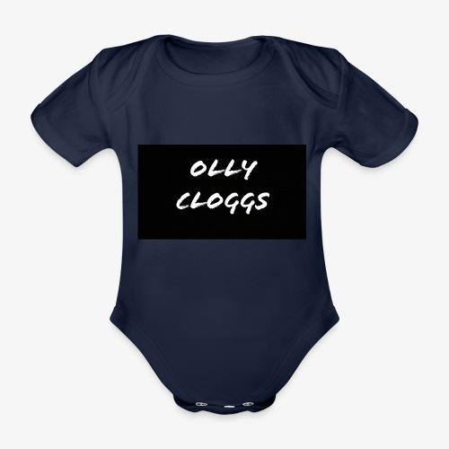 ollycloggs - Organic Short-sleeved Baby Bodysuit
