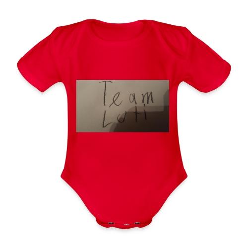 Team Luti - Baby Bio-Kurzarm-Body