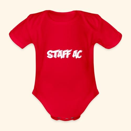 staffac - Body ecologico per neonato a manica corta
