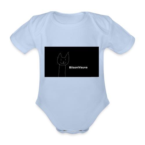 biisonivauva - Vauvan lyhythihainen luomu-body