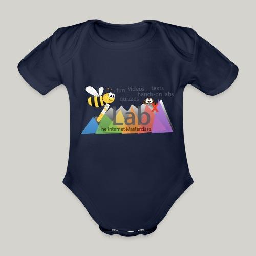 iLabX - The Internet Masterclass - Organic Short-sleeved Baby Bodysuit