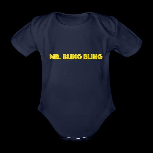 bling bling - Baby Bio-Kurzarm-Body