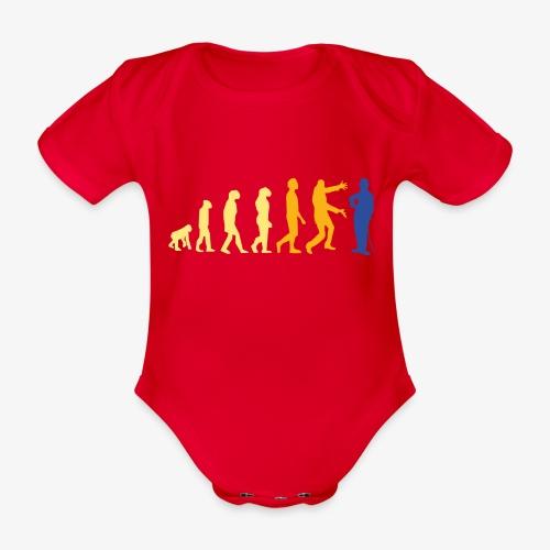 Cinematografía - Body orgánico de maga corta para bebé