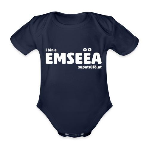 supatrüfö EMSEEA - Baby Bio-Kurzarm-Body