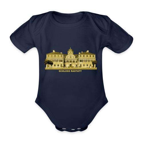 Rastatt Schloss Residenz Barock Baden-Baden - Baby Bio-Kurzarm-Body