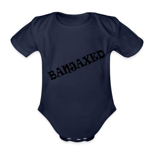 Banjaxed - Organic Short-sleeved Baby Bodysuit
