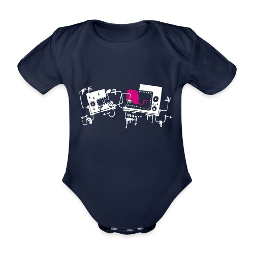 Dos Numbos by manito - Body Bébé bio manches courtes