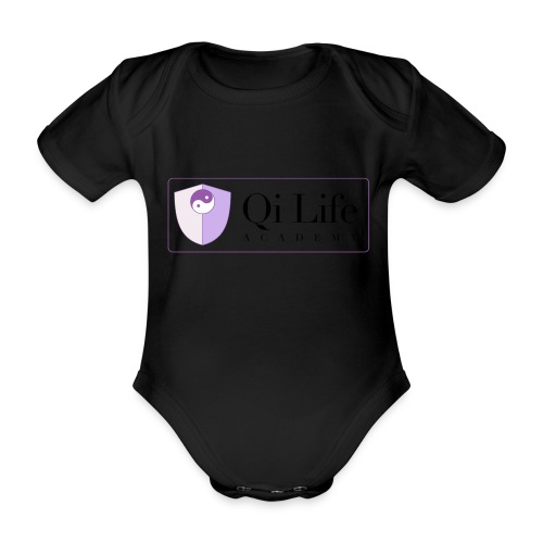 Qi Life Academy Promo Gear - Organic Short-sleeved Baby Bodysuit