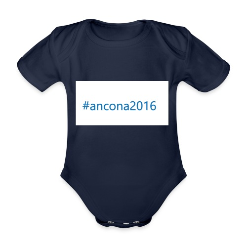 #ancona2016 - Body orgánico de manga corta para bebé