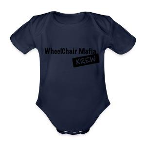WCMKrew - Baby bio-rompertje met korte mouwen